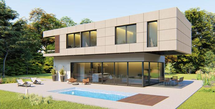 Casa Ecológica y Sostenible · Casas Modulares económicas